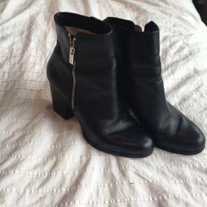 Michael Kors Black heeled bootie